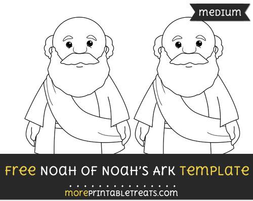 Free Noah Of Noahs Ark Template - Medium
