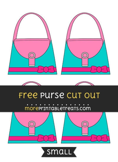 Free Purse Cut Out - Small Size Printable